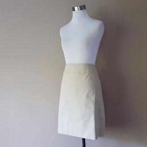 Skirt Size 12 Talbots Linen Cotton Blend